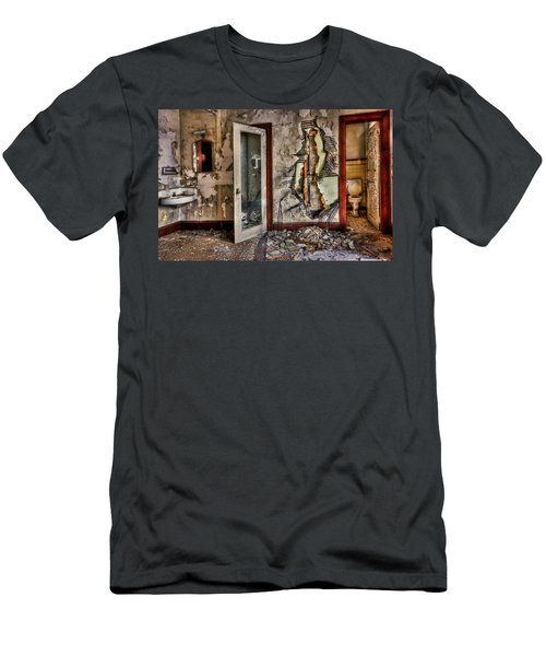 Ghost Of Time Men's T-Shirt (Athletic Fit)