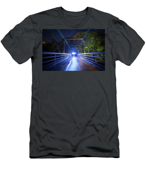 Ghost On The Bridge Men's T-Shirt (Athletic Fit)