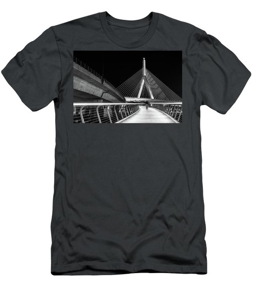 Ghost Rider At Zakim Bridge Men's T-Shirt (Athletic Fit)