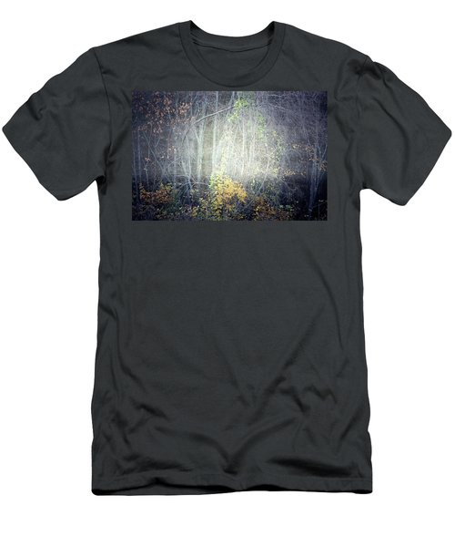 Men's T-Shirt (Slim Fit) featuring the photograph Ghosts Of The Forest 2 by Tara Turner