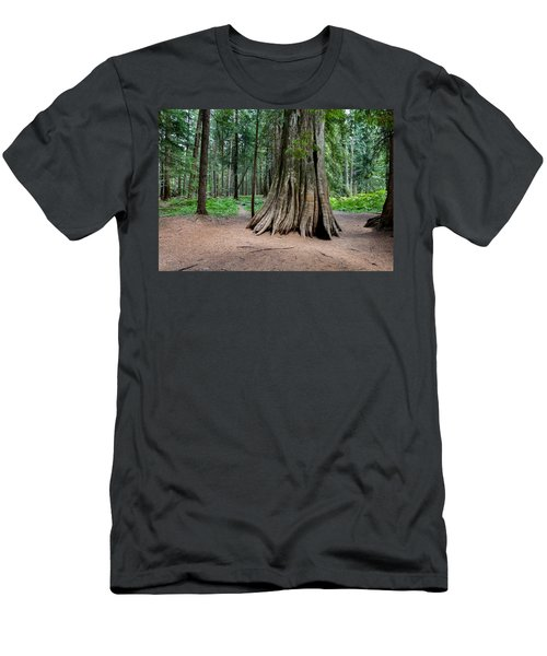 Men's T-Shirt (Athletic Fit) featuring the photograph Giant Cedar by Fran Riley