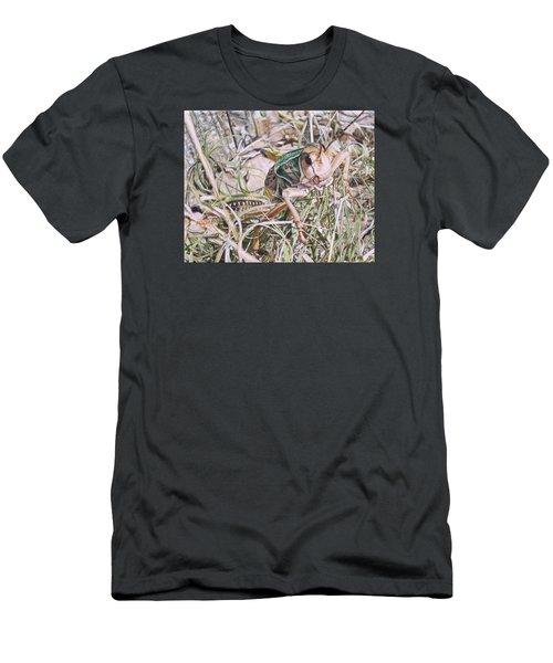 Giant Grasshopper Men's T-Shirt (Athletic Fit)