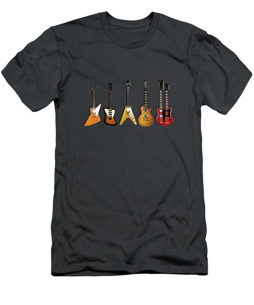 Gibson Electric Guitar Collection Men's T-Shirt (Athletic Fit)