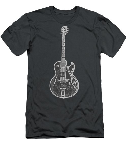 Gibson Es-175 Electric Guitar Tee Men's T-Shirt (Athletic Fit)