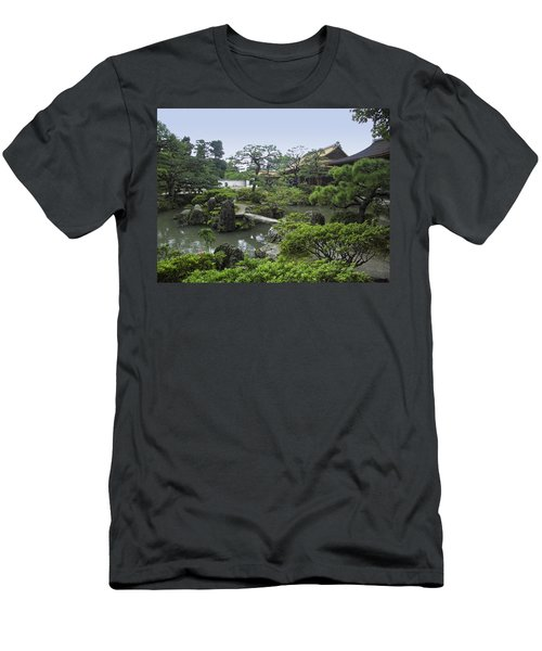 Ginkaku-ji Zen Temple No. 1 - Kyoto Japan Men's T-Shirt (Athletic Fit)