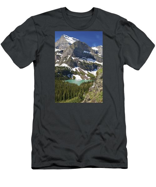 Glacier Backcountry Men's T-Shirt (Slim Fit) by Gary Lengyel