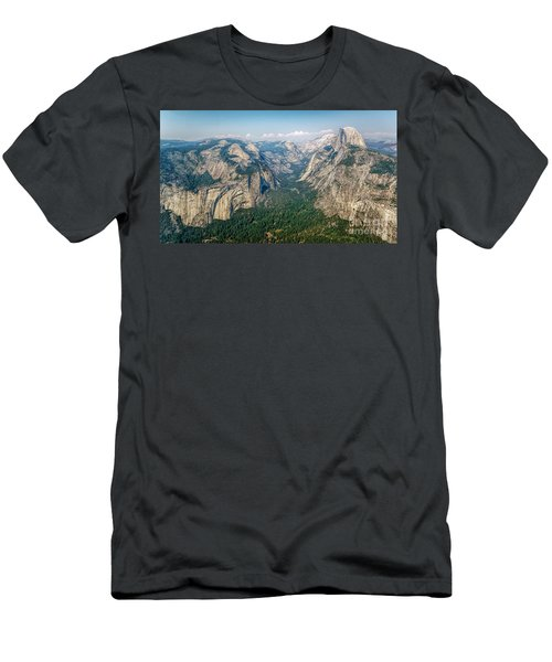 Glacier Point Yosemite Np Men's T-Shirt (Athletic Fit)