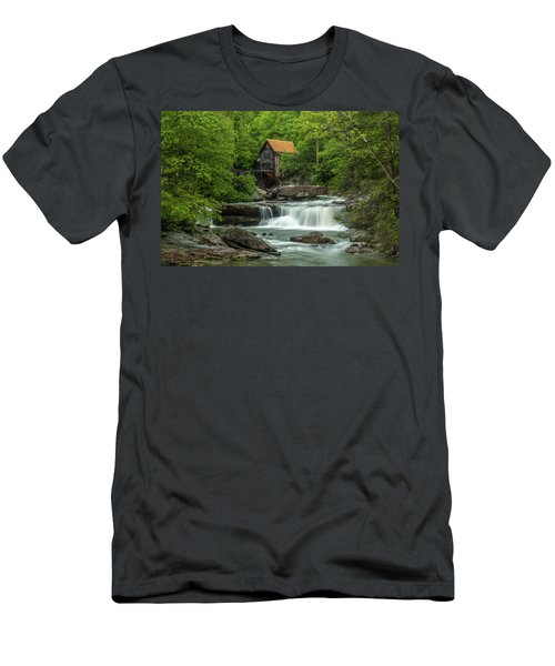 Glade Creek Grist Mill In May Men's T-Shirt (Athletic Fit)