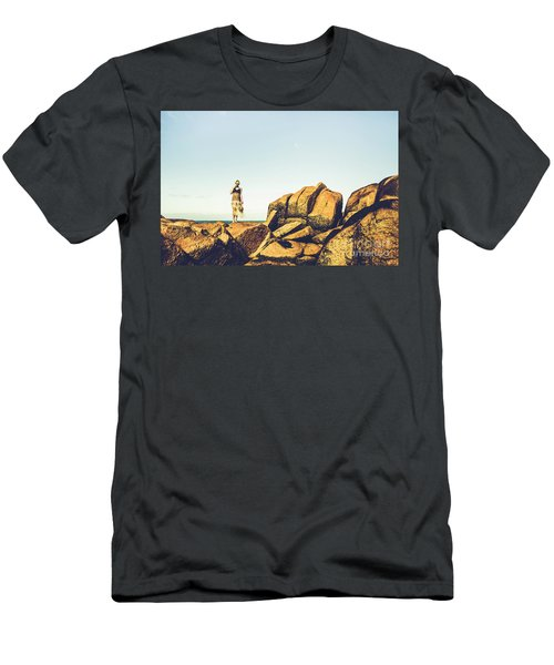 Glamour In Untouched Paradise Men's T-Shirt (Athletic Fit)