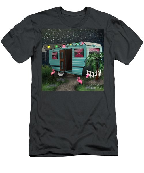 Glamping Men's T-Shirt (Athletic Fit)