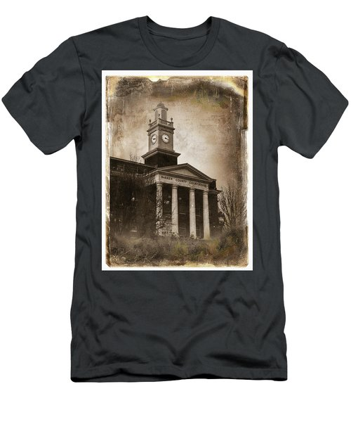 Glasgow Ky Courthouse Men's T-Shirt (Athletic Fit)