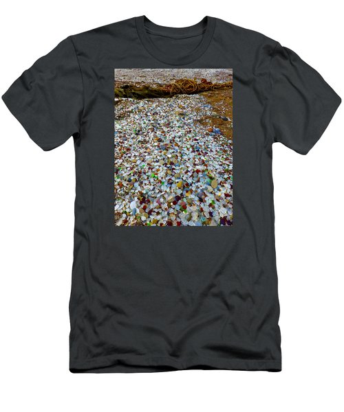 Glass Beach Men's T-Shirt (Athletic Fit)
