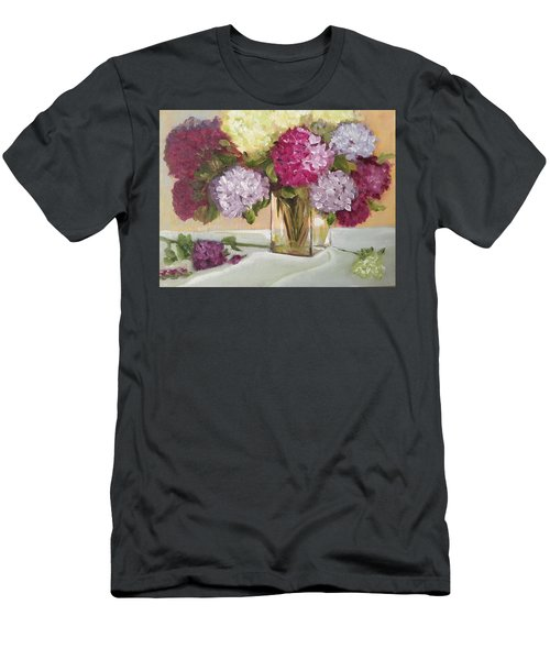 Glass Vase Men's T-Shirt (Slim Fit) by Sharon Schultz