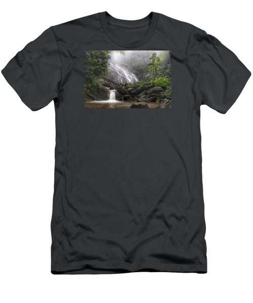 Glen Burney Falls Men's T-Shirt (Athletic Fit)