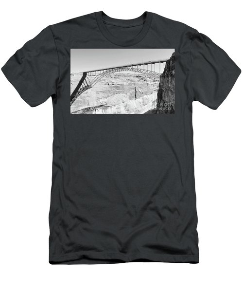 Glen Canyon Bridge Bw Men's T-Shirt (Athletic Fit)
