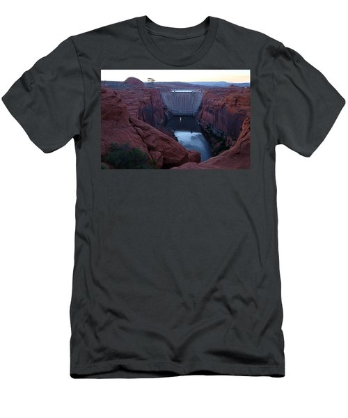 Glenn Canyon Dam Men's T-Shirt (Athletic Fit)