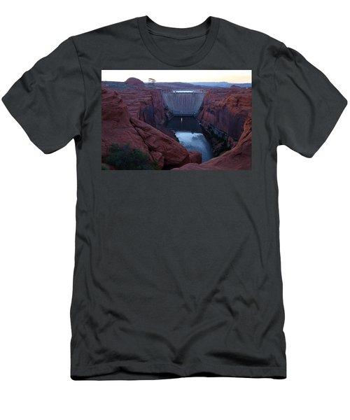 Glenn Canyon Dam Men's T-Shirt (Athletic Fit)