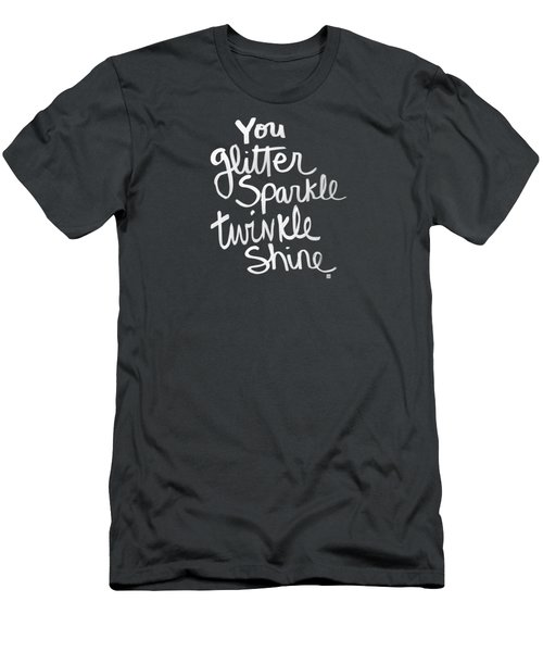 Glitter Sparkle Twinkle Men's T-Shirt (Athletic Fit)