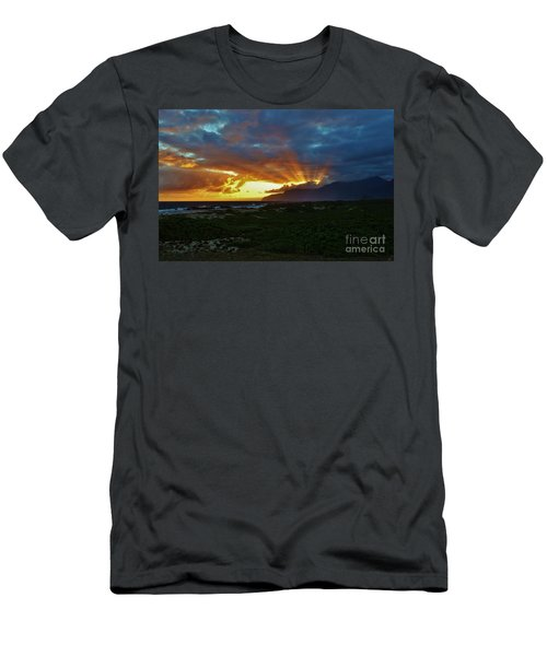 Glorious Morning Light Men's T-Shirt (Athletic Fit)