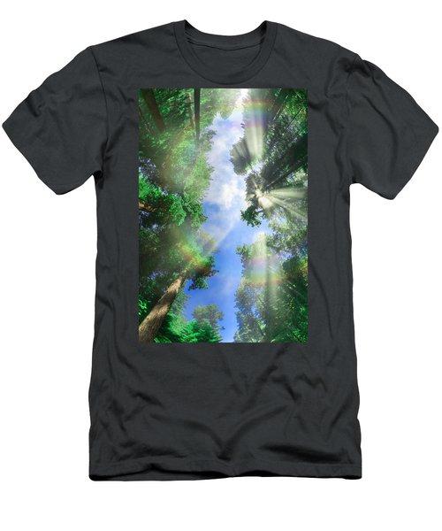 Glory Amongst Redwoods Men's T-Shirt (Athletic Fit)
