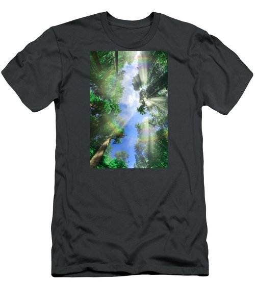 Glory Amongst Redwoods Men's T-Shirt (Athletic Fit)