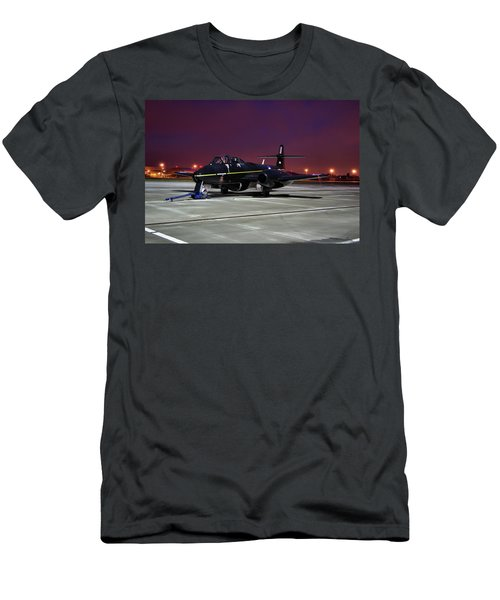 Gloster Meteor T7 Men's T-Shirt (Slim Fit) by Tim Beach