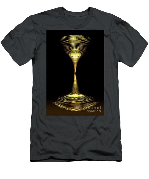 Glowing Brass Lamp Stand Men's T-Shirt (Athletic Fit)