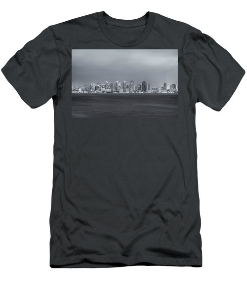 Glowing In The Night Men's T-Shirt (Slim Fit) by Joseph S Giacalone