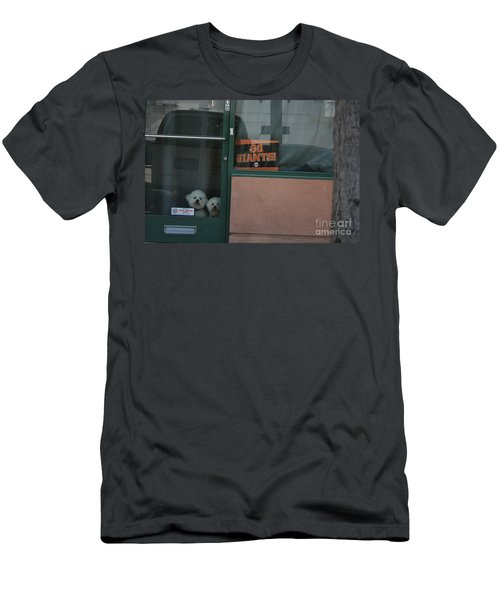 Men's T-Shirt (Athletic Fit) featuring the photograph Go Giants by Cynthia Marcopulos