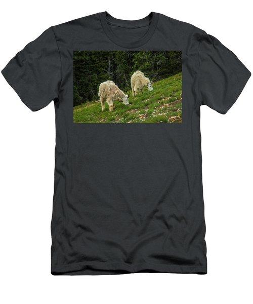 Goat Garden Men's T-Shirt (Athletic Fit)