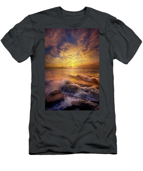 Men's T-Shirt (Slim Fit) featuring the photograph Gods Natural Cure by Phil Koch