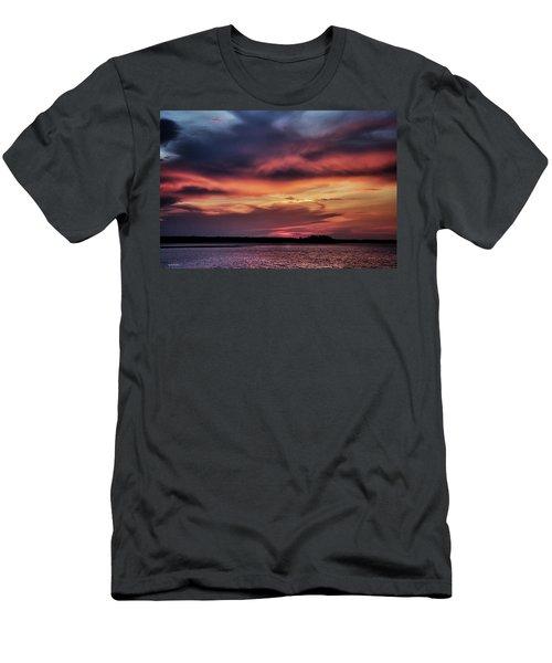 God's Paintbrush Men's T-Shirt (Slim Fit) by Phil Mancuso