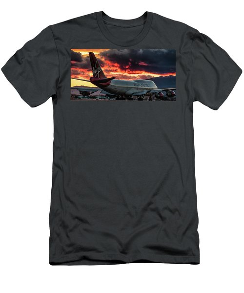 Going Home Men's T-Shirt (Slim Fit) by Michael Rogers