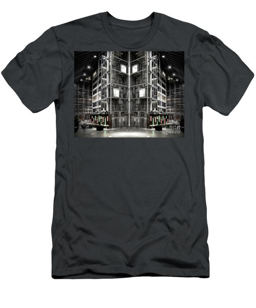 Men's T-Shirt (Slim Fit) featuring the photograph Going Up by Brian Jones