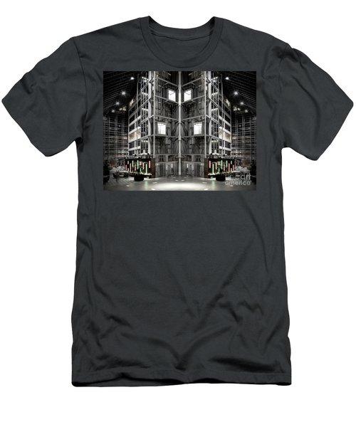 Going Up Men's T-Shirt (Slim Fit) by Brian Jones