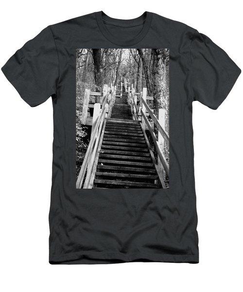 Going Up Men's T-Shirt (Slim Fit) by Jamie Lynn