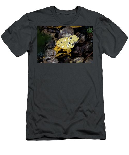 Men's T-Shirt (Athletic Fit) featuring the photograph Gold And Diamons by Stephen Holst
