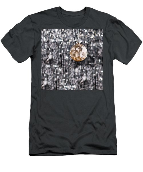 Men's T-Shirt (Slim Fit) featuring the photograph Gold Christmas by Ulrich Schade