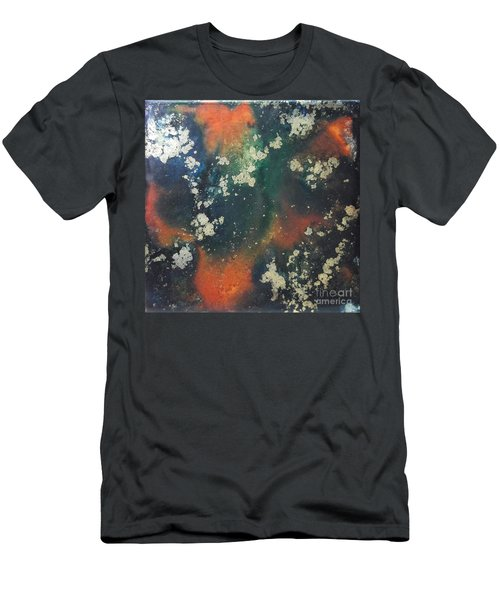 Gold Flecked Men's T-Shirt (Athletic Fit)