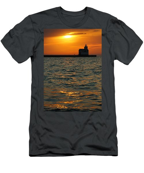 Gold On The Water Men's T-Shirt (Athletic Fit)