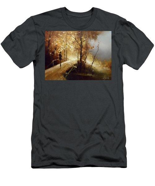 Golden Autumn Men's T-Shirt (Athletic Fit)