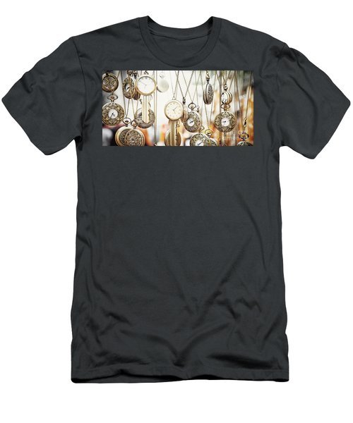 Golden Faces Of Time Men's T-Shirt (Athletic Fit)