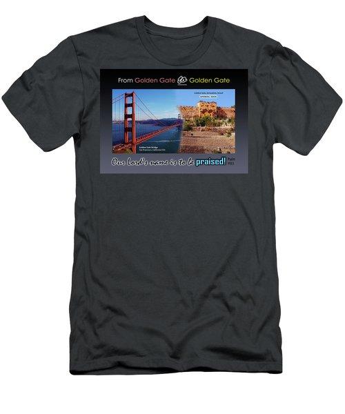 Golden Gate To Golden Gate Men's T-Shirt (Athletic Fit)