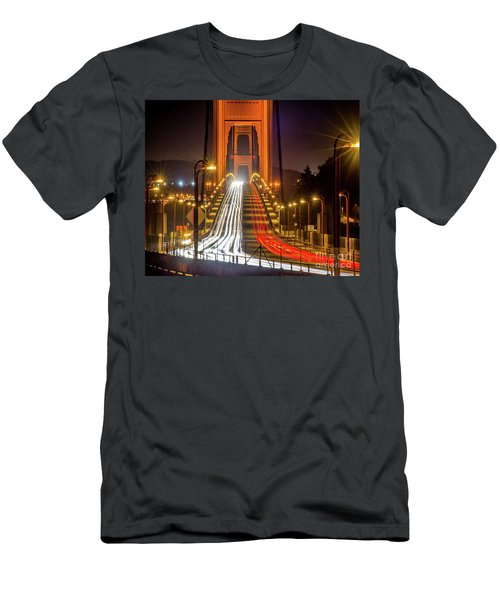 Golden Gate Traffic Men's T-Shirt (Athletic Fit)
