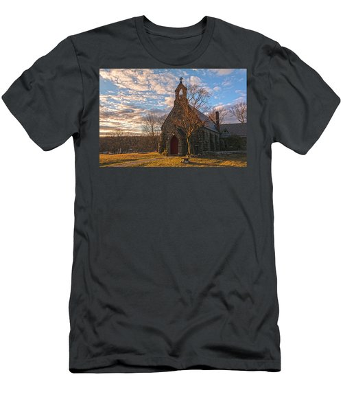 Golden Hour Prayer Service Men's T-Shirt (Athletic Fit)