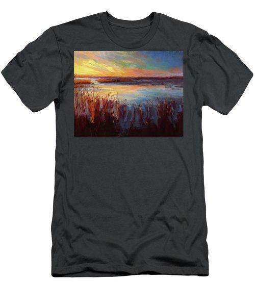 Golden Marsh Men's T-Shirt (Athletic Fit)