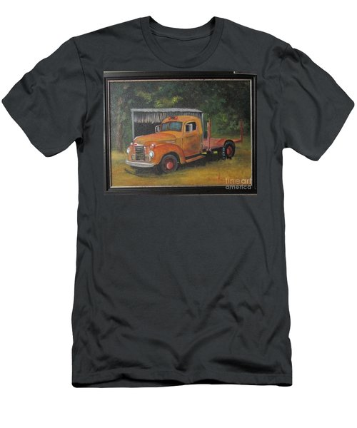 Golden Truck  Men's T-Shirt (Slim Fit)