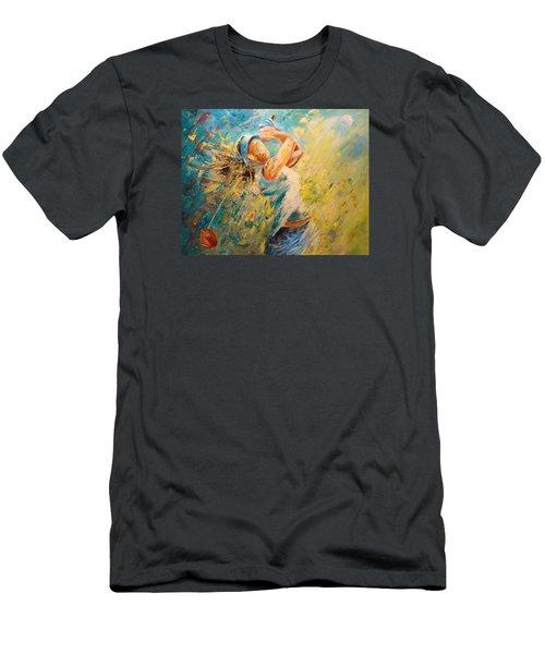 Golf Passion Men's T-Shirt (Athletic Fit)
