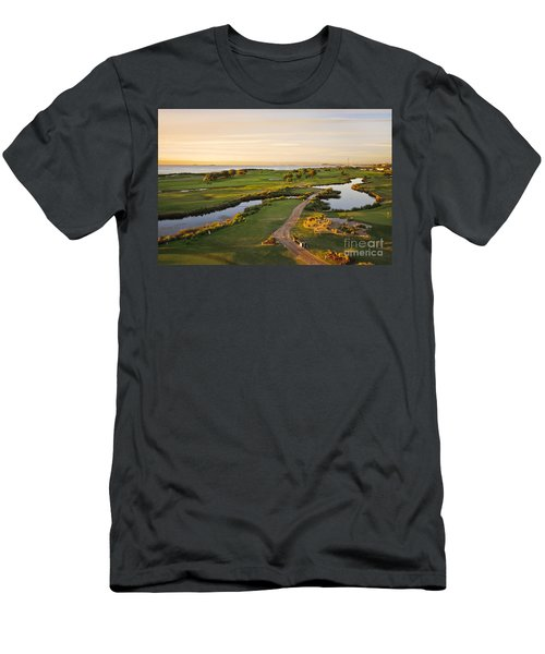 Golfing At The Gong II Men's T-Shirt (Athletic Fit)
