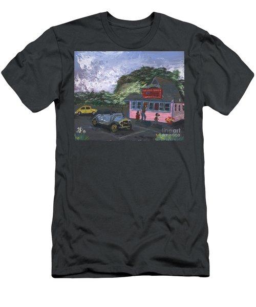 Golicks Ice Cream Men's T-Shirt (Athletic Fit)